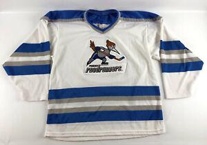 Phoenix Roadrunners Vintage Hockey Jersey White Size S/M Bauer ProWear
