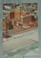 VINTAGE CHALFONTE-HADDON HALL ATLANTIC CITY NJ POSTCARD *CLEAN*