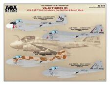 AOA decals 1/32 VA-65 TIGERS (2) USN A-6E TRAM Intruders Cold War & Desert Storm
