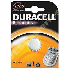 6 x DURACELL 1220 Lithium Batteries   CR1220 DL1220