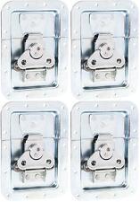 4 Stück Butterfly Verschluss gross ungekröpft in 14 mm Einbauschale Schloss NEU