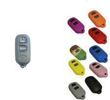 Key Fob Cover Jacket Silicon Black Pink Red Purple Blue Red fits Toyota / Scion