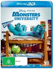 Monsters University (Blu-ray, 2013) 3D NEW