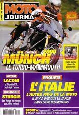 MOTO JOURNAL 1505 Friedel Münch TTS 1200 NSU TT MAMMUT VICTORY V92 APRILIA Jerez