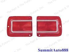 1965 65 Chevy Chevelle Tail Lamp Light Lens - Pair / 2 PCS CVTL65-1