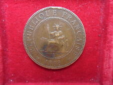 FRENCH INDO CHINA CENT 1888