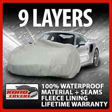 9 Layer Car Cover Indoor Outdoor Waterproof Breathable Layers Fleece Lining 6739
