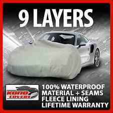 9 Layer Car Cover Indoor Outdoor Waterproof Breathable Layers Fleece Lining 6099