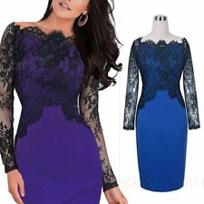 Lace Cocktail Stretch, Bodycon Machine Washable Dresses for Women