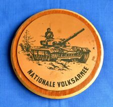 German Army NVA Tank T-72 DESK MEDAL Military PLAQUE