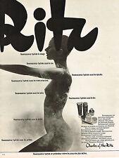 PUBLICITE ADVERTISING 035  1973  CHARLES OF THE RITZ  beauté des seins