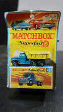 Matchbox Superfast CARDED AND BOXED Dodge Dumper Truck No 48