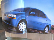 Mint Condition 2005 Chevrolet AVEO Brochure  '05 chevy