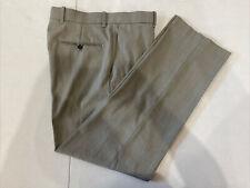 Perry Ellis Men's Gray Textured Dress Pants 32X30 $98