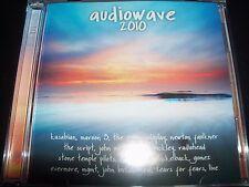 Audiowave 2010 Various 2 CD Oasis MGMT Jason Mraz Coldplay Radiohead Gomez & Mor