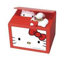 Hello Kitty Musical Moving Electronic Coin Money Piggy Bank Box Japan Import
