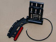 Collapsible Folding Side Mount License Plate Bracket For Harley Sportster XL 883