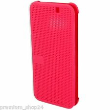 Htc Dot View per One M9 Pink 99h20113-00