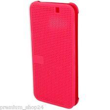 ORIGINALE HTC ONE M9 Dot Flip HC M231 Custodia A Libro CUSTODIA CELLULARE