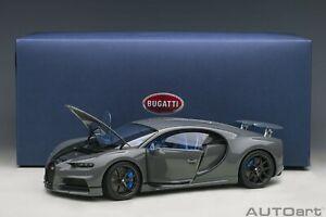 Autoart Bugatti Chiron Sport Jet Grigio IN 1/18 Scala Nuovo Rilascio