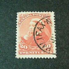 Canada Stamp Scott# 46 Victoria 1888-97 W19