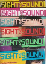 Various Issues of SIGHT & SOUND Magazine from November 1996 to December 2002