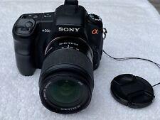 Sony A200 DSLR Digital Camera + 18-70mm Lens