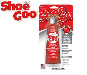 Shoe Goo - Clear Adhesive Reapir Glue for Shoes Boots Wellies Waders etc 29.5ml
