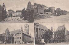 1607, 11 x Thorn / Westpreußen tolle Karten viele mit Strassen !