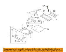VW VOLKSWAGEN OEM 06-14 GTI Interior-Rear-Tonneau Cover Strap 1K6863447A9B9