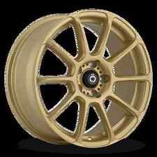 17x7.5 KONIG RUNLITE 5x114.3 +45 Gold Wheels (Set of 4)