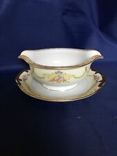 Meito CELESTE Gravy Boat with attached Underplate  - Japan