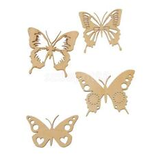 Laser Cut Out Butterfly Wood Shapes Craft Arts for DIY Scrapbooking Stickers