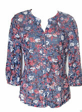 Per Una Long Sleeve Casual Floral Tops & Shirts for Women