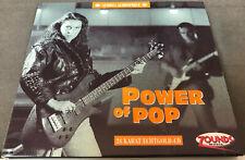 ZOUNDS - 24k Gold - POWER OF POP - Audio's Audiophile Vol. 10 - Digipak - NM-M!