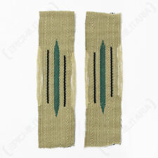 PIONEERS EM BEVO LITZEN COLLAR TABS - Repro WW2 German Military Army Patch Badge