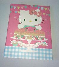 A4 HELLO KITTY Raccoglitore ad anelli per il Tè Time CAT & STRAWBERRY Torta Glassa Rosa Glitter