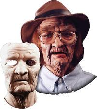 Morris Costume New Old Age Foam Soft Spongy Latex Prosthetic Face Mask. HD600116