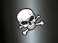 1 x Aufkleber Nummernschild Plakette Ersatz Skull Totenkopf Autoaufkleber Tuning