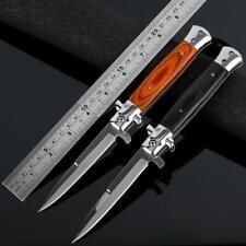 Italian Style - Traditional Stiletto Folding Knife - (2 Colour Variations)