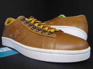 CONVERSE PRO LEATHER UND OX UNDEFEATED GOLDEN YELLOW WHITE ALL-STAR 137373C 12