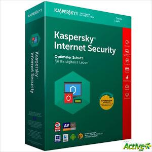 Kaspersky Internet Security 2021 1 Gerät / PC 1Jahr Multi-Device DE-Lizenz