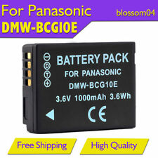 Battery DMW-BCG10E for Panasonic DMC-TZ20 TZ7 TZ18 TZ10 TZ8 ZS1 ZR1 Camera