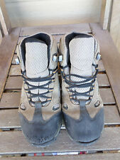 Merrell Chameleon Waterproof Mid Kangaroo Boa Grey Hiking Shoes  Youth Size 4