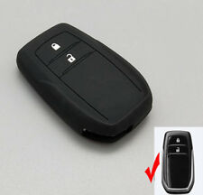 Silicone key cover case for Toyota 86 Hilux 2016 Innova ZELAS Fortuner remote