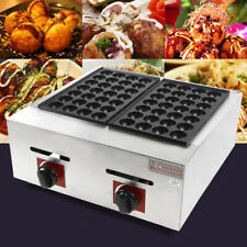 New listing Takoyaki Grill Octopus Ball Small Waffle Kitchen Home Appliance 330* 200mm New