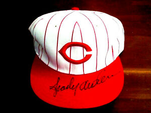 SPARKY ANDERSON HOF REDS TIGERS MGR SIGNED AUTO NEW ERA PRO FIELD CAP HAT JSA