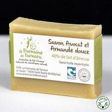 Pack de 3 savons 40% lait d'ânesse frais et bio  - Sans huile de palme