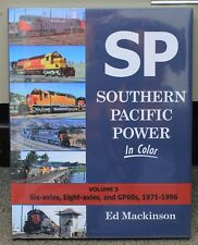 MORNING SUN BOOKS - SOUTHERN PACIFIC POWER Volume 3 - In Color - HC 128 Pages