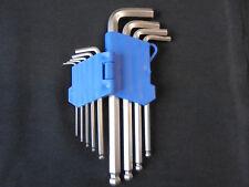 SECHSKANTSTIFTSCHL�œSSELSATZ-KUGELKOPF-INNENSECHSKANTSCHL�œSSEL-9-tlg-1,5 bis 10mm